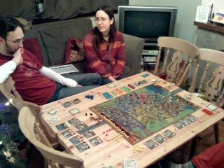 Playing a game of Power Grid